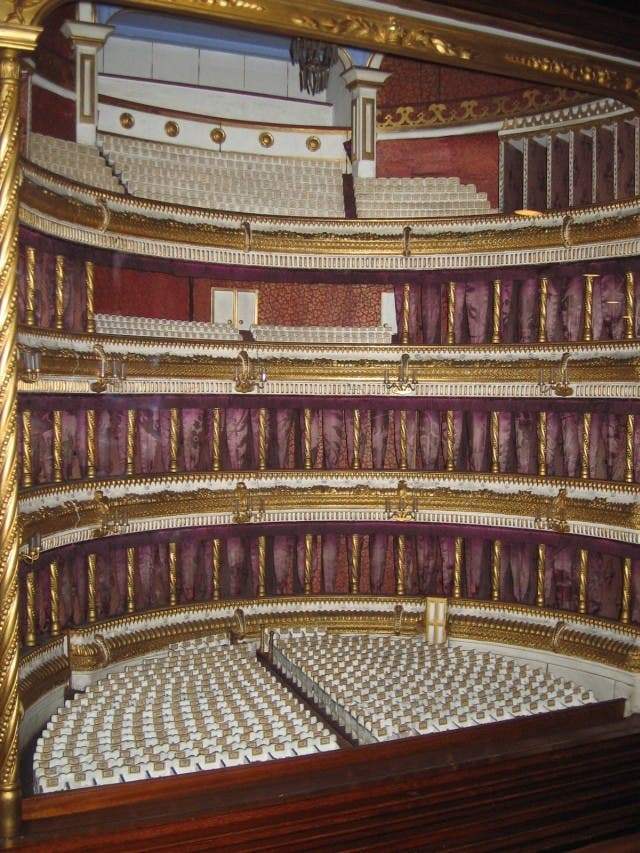 Mueble en Royal Opera House