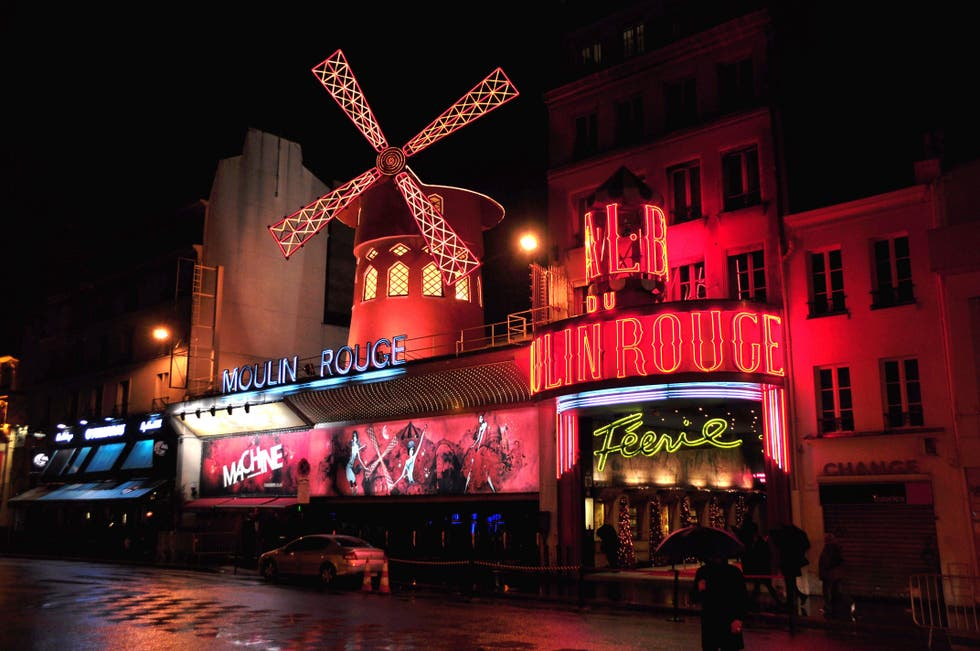 Color rosa en Moulin Rouge