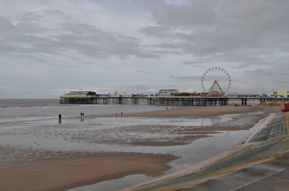 Shore in Blackpool