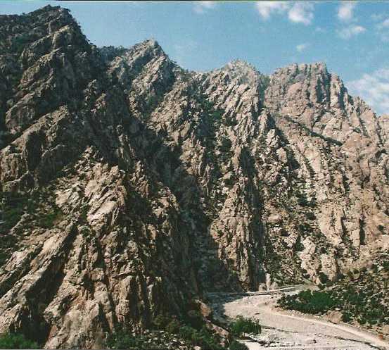 Montanha em Ningxia