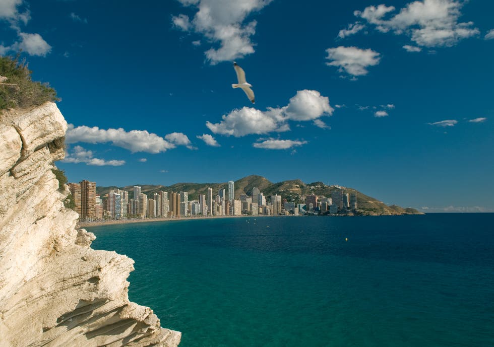 Bay in Benidorm