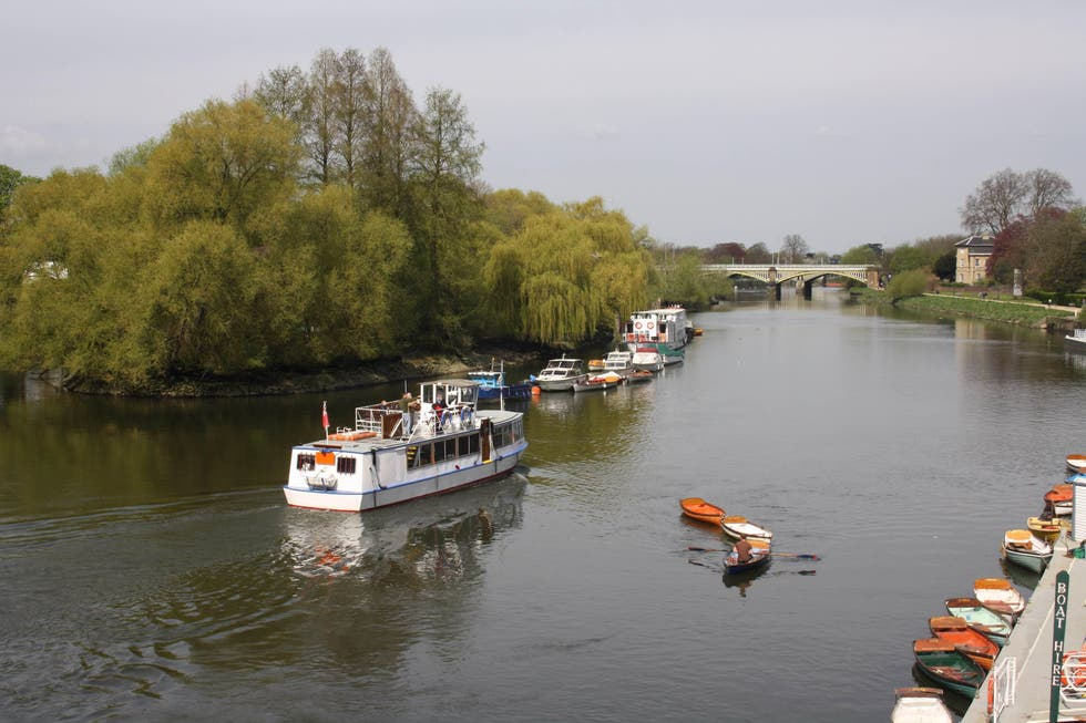 Waterway in Richmond upon Thames