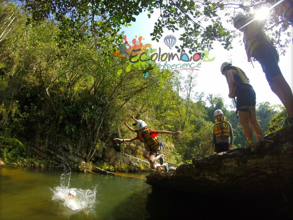 Canyoning in Ecolombia experience