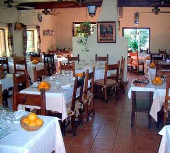 Comida en Restaurante Bergamonte