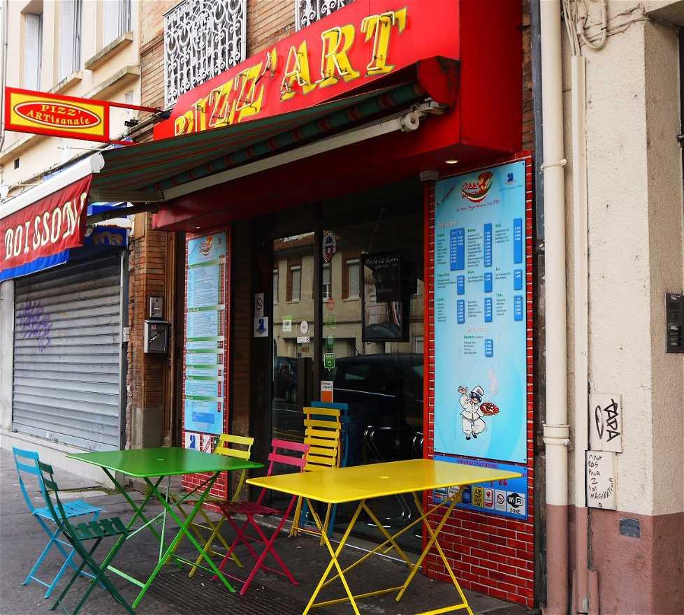 Restaurante en Pizz'Artisanale