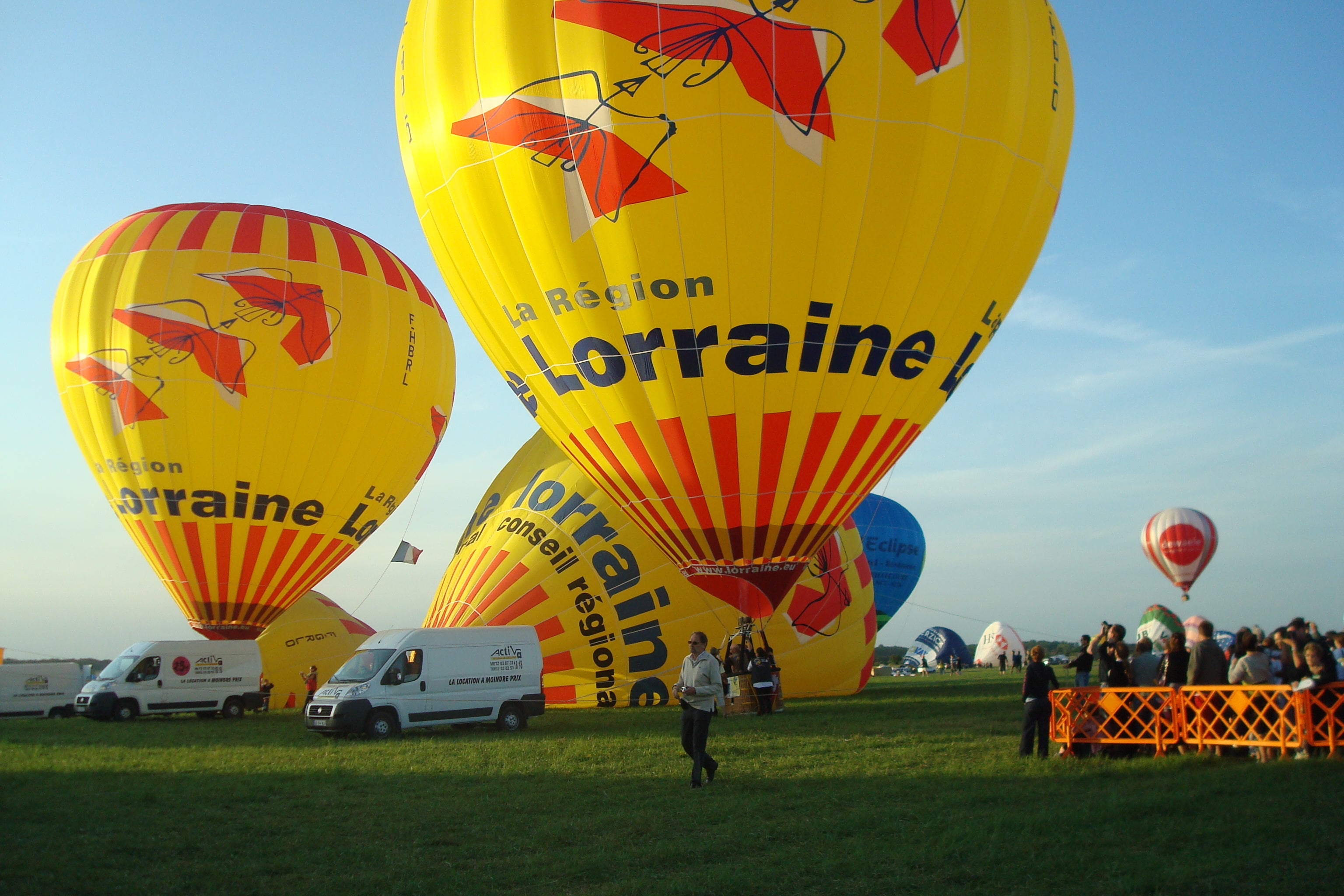 Vehicle in Mondial Air Ballons