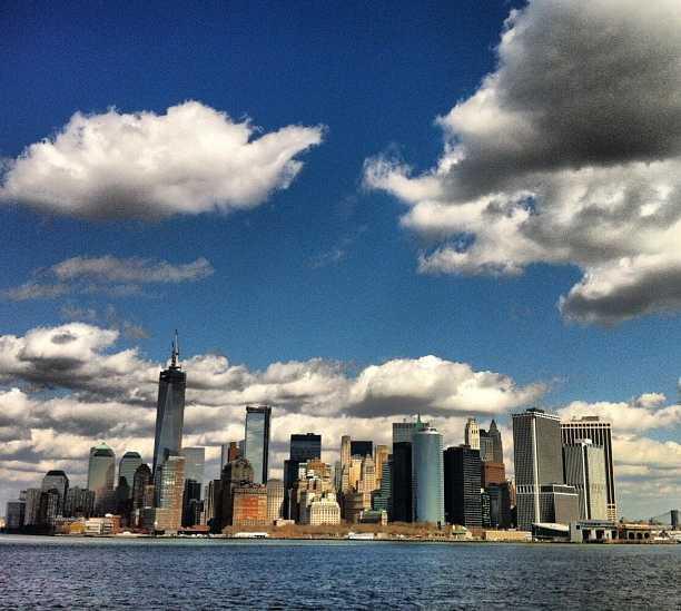 Mar en Staten Island Ferry