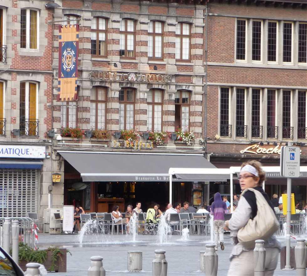 Plaza en Brasserie Le Beffroi