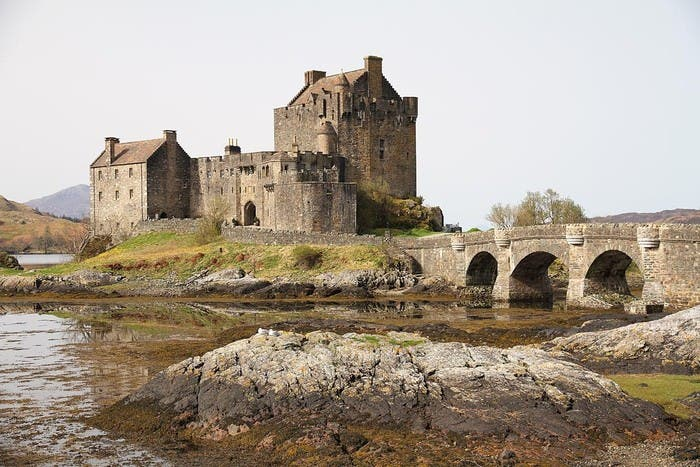 Fortification in Kyle of Lochalsh