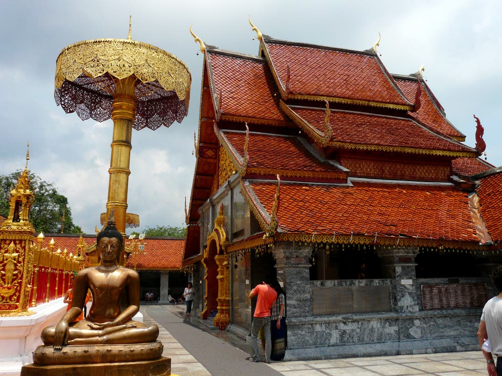 Templo en Wat Phra That Doi Suthep