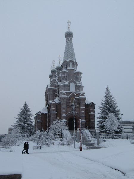 steeple in Tampere