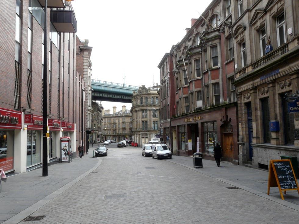 Pueblo en Newcastle upon Tyne