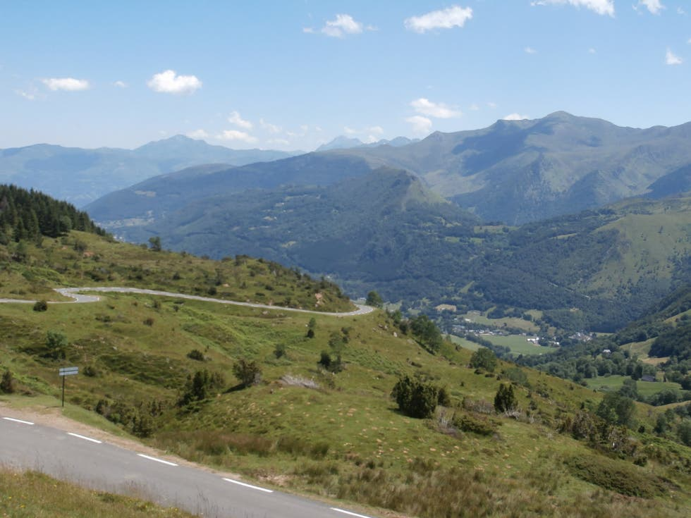 Embalse en Col d'Aubisque