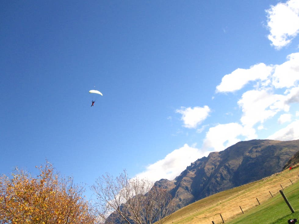 Sky in Queenstown