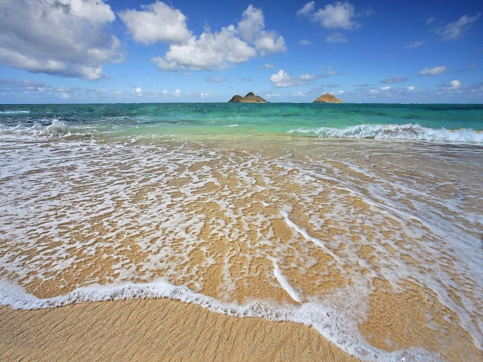 Sand in Hawaiian Beaches