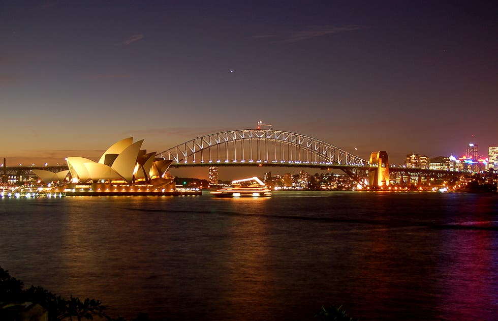 Noche en New South Wales