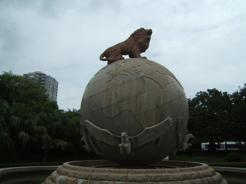 Sculpture in Old Town and Park of Xiamen