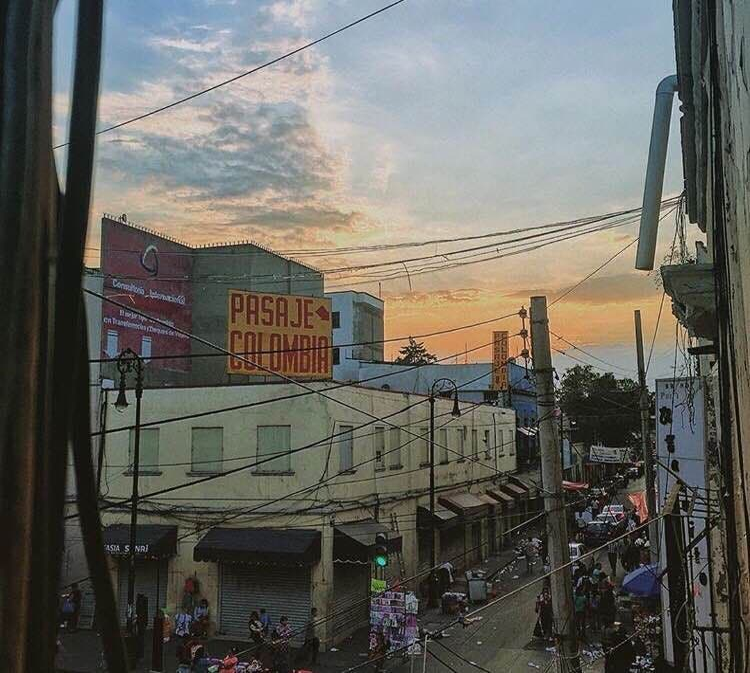 Zona urbana en Centro Histórico Ciudad de México