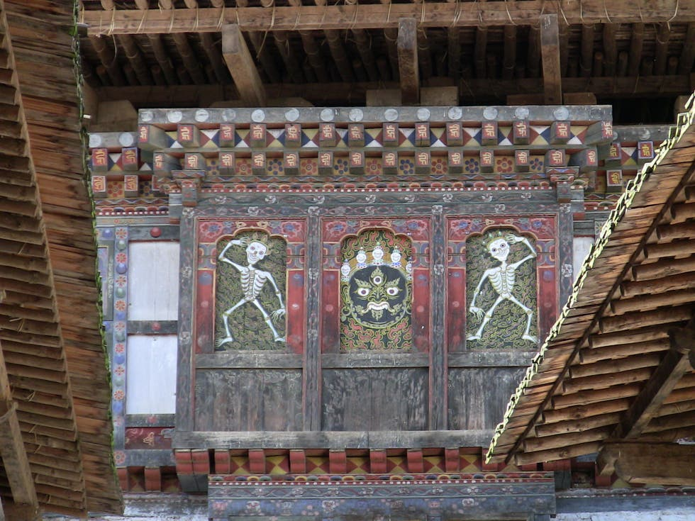 Architecture in Punakha