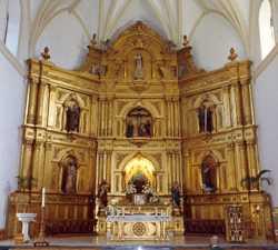Altar en Villarrubia de los Ojos