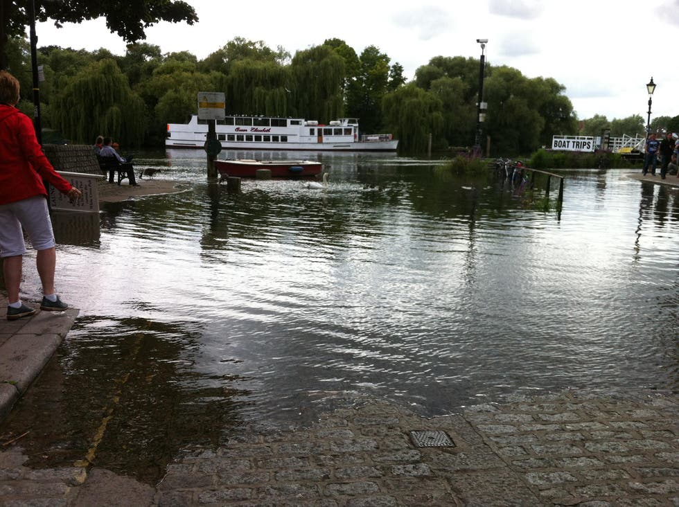 Flood in Richmond upon Thames