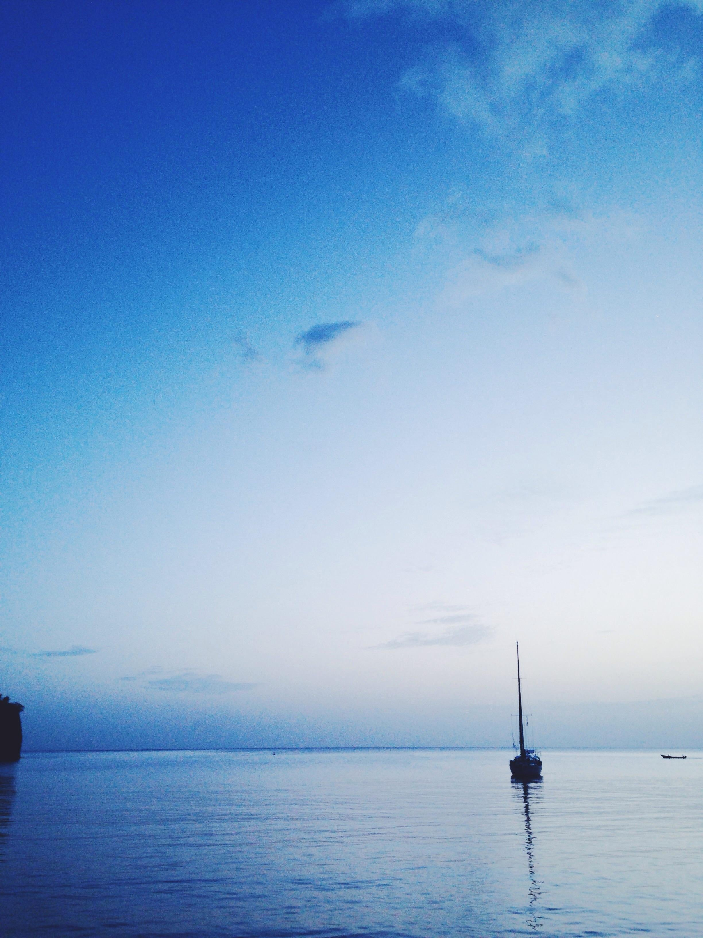 Blue in Saint Vincent and the Grenadines