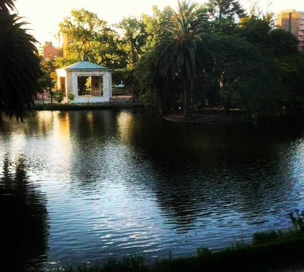 Paseo en barco en Parque Rodó