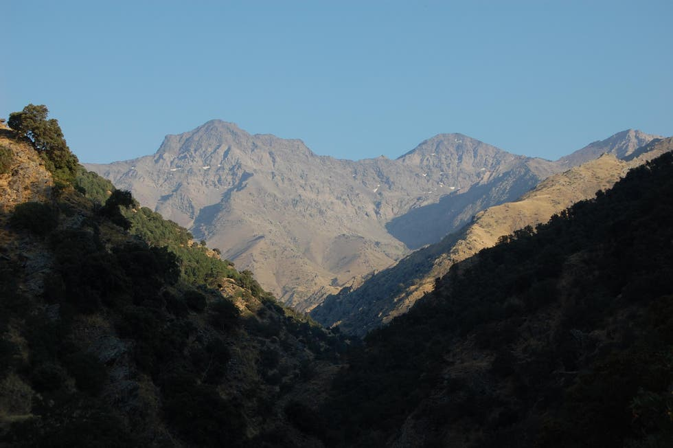 Mountain in Güéjar Sierra