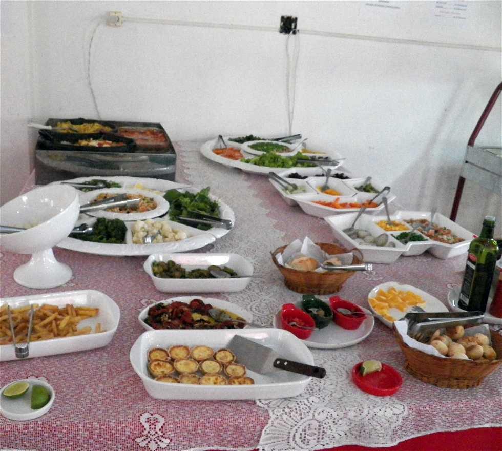 Comida en Cantina Caputi