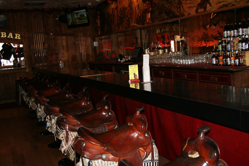 Restaurante en Million Dollar Cowboy bar