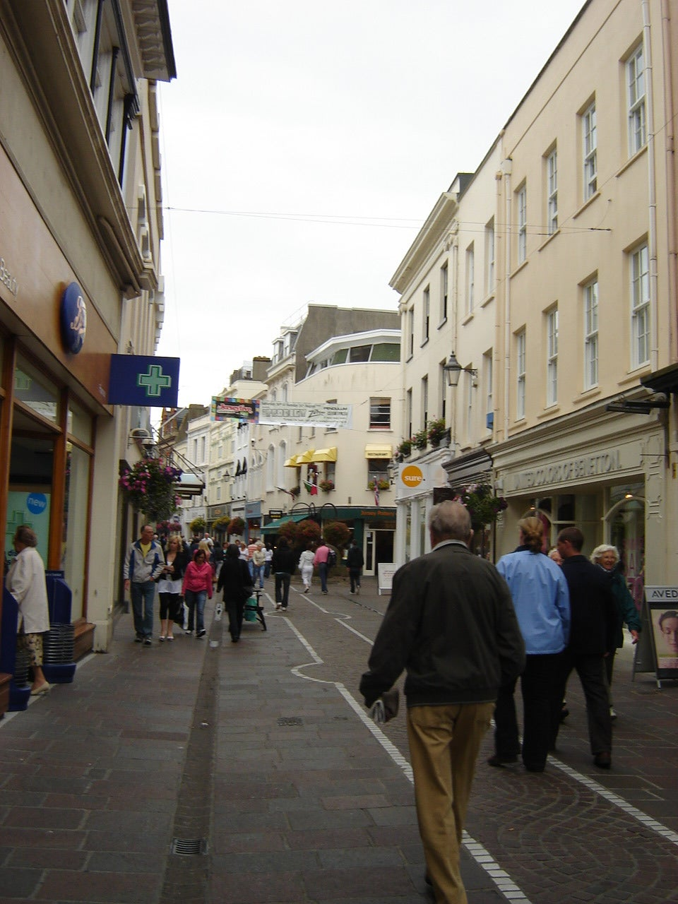 Town in Jersey