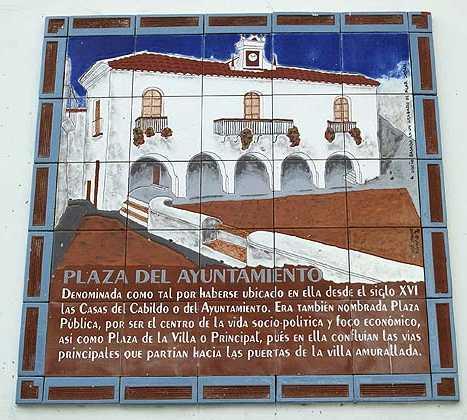 Póster en Plaza del Ayuntamiento