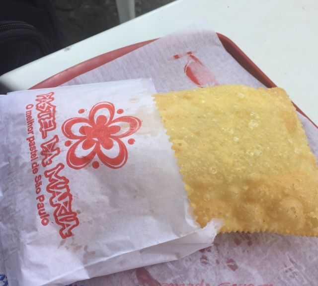 Comida en Pastel da Maria - Market Paulista