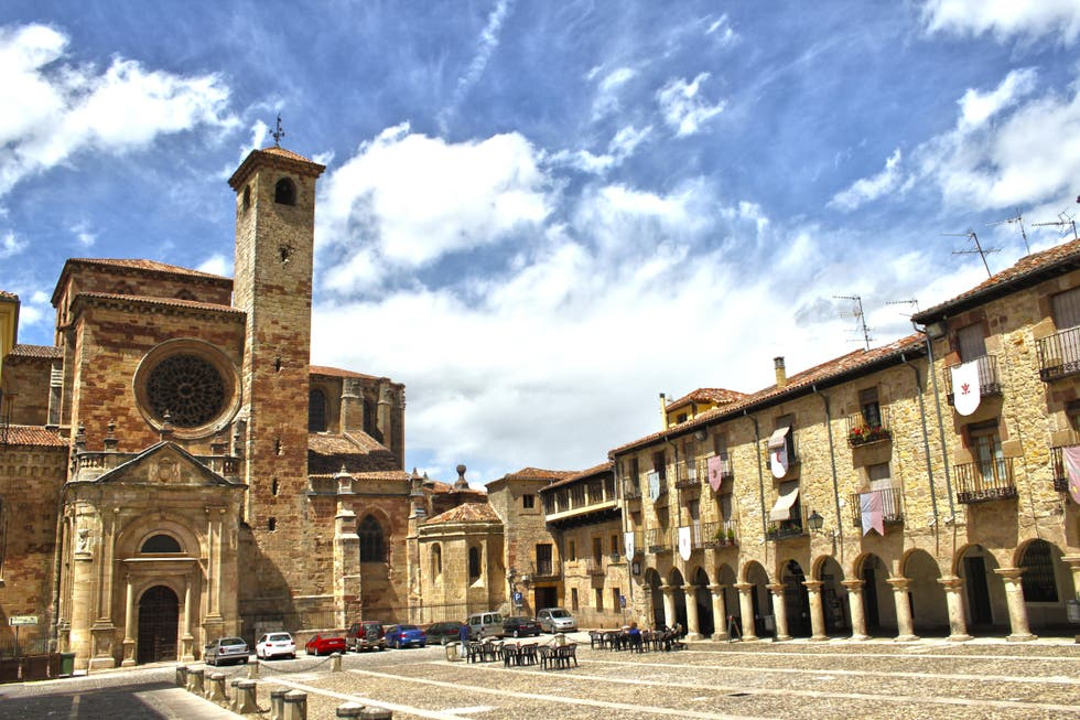 Historia antigua en Plaza Mayor de Sigüenza