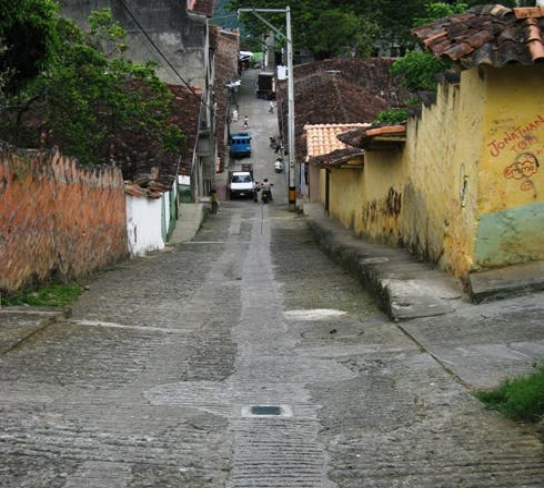 Lamborghini gallardo em Titiribí