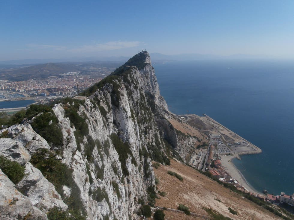 Mountain Range in Gibraltar