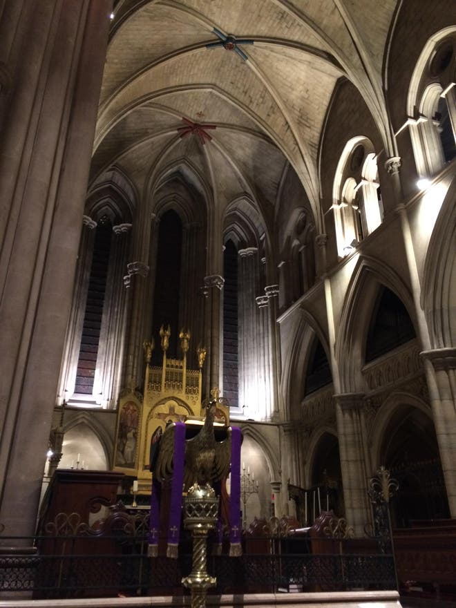 Catedral en American Cathedral of the Holy Trinity