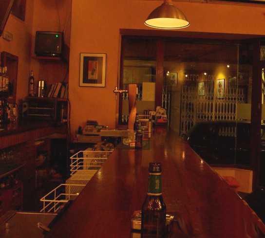 Bar en El secreto
