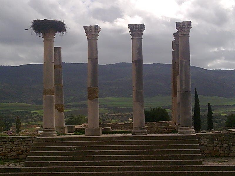 Central eléctrica en Volubilis