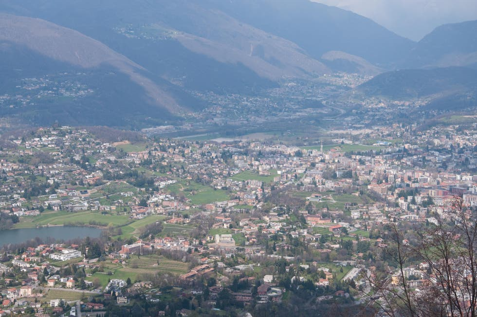 Aerial Photography in Lugano