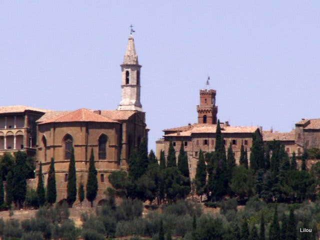 Town in Montalcino