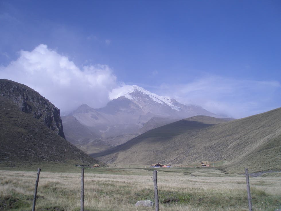 Mountain in Alausí