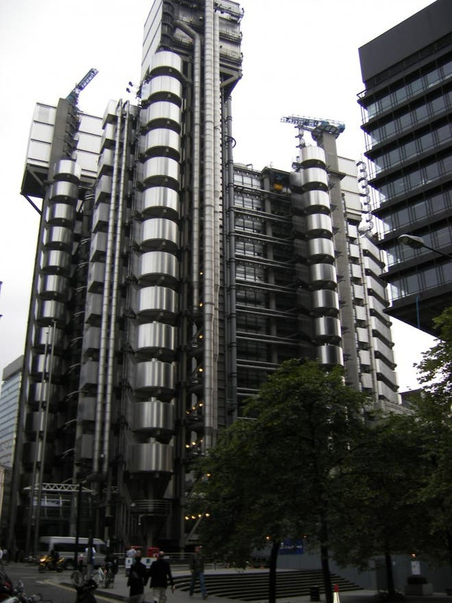 Ciudad en Lloyd's London Building