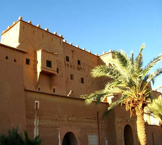 Arquitectura en Kasbah de Taourirt