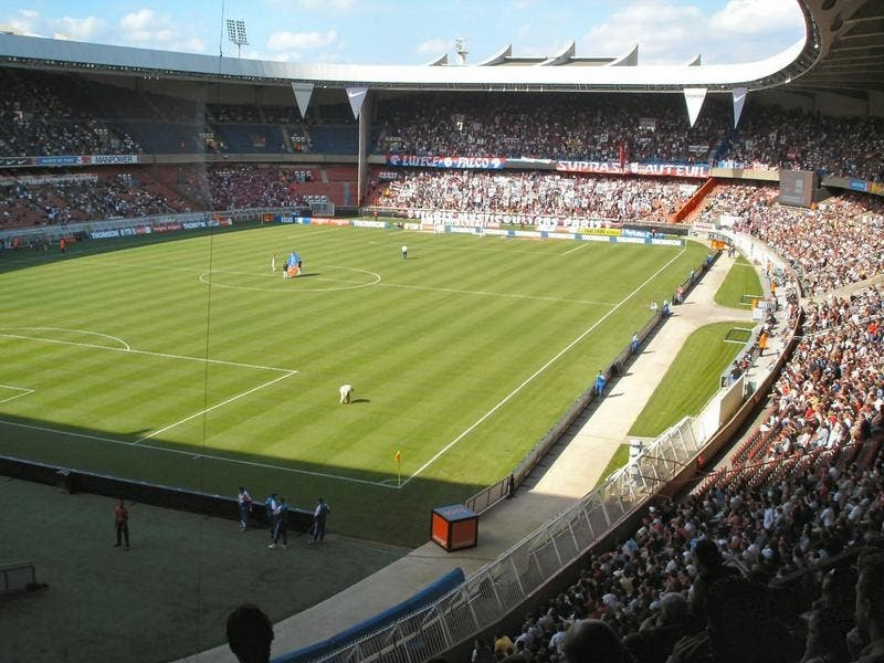Estadio en Parque de los Príncipes - Parc des Princes