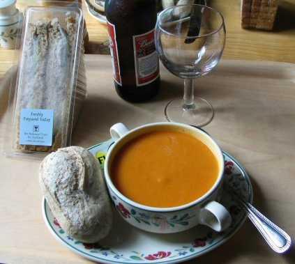 Típica sopa escocesa