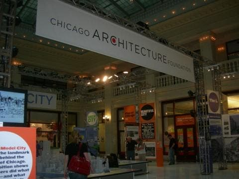 Photos of Chicago Architecture Foundation CAF Images