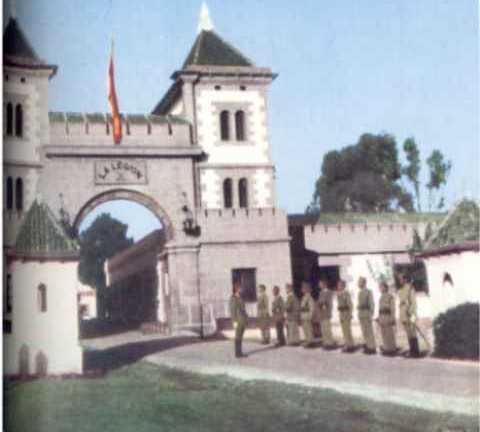 Monasterio en Cuartel de Dar Riffien.