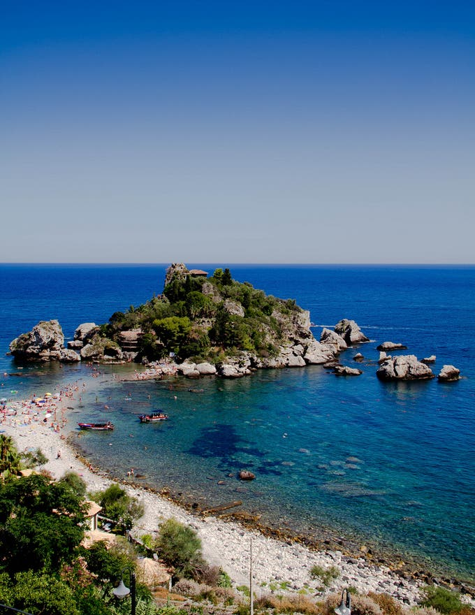 Sea in Taormina