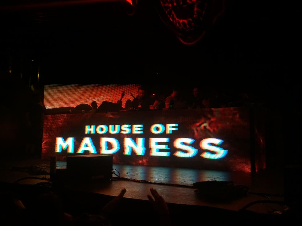 Señal en House of Madness all'Amnesia